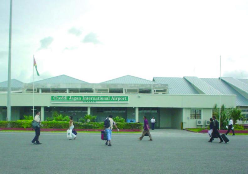 Timehri Cheddi Jagan Airport